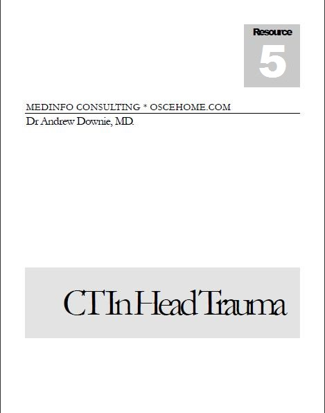 CT in Head Trauma eBook