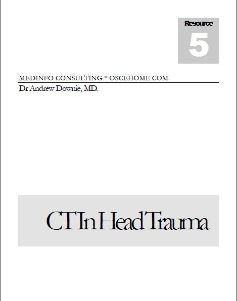 CT in Head Trauma eBook