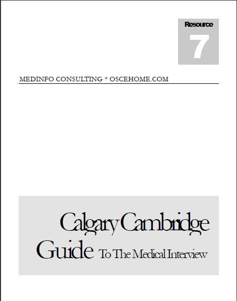 Calgary - Cambridge Guide
